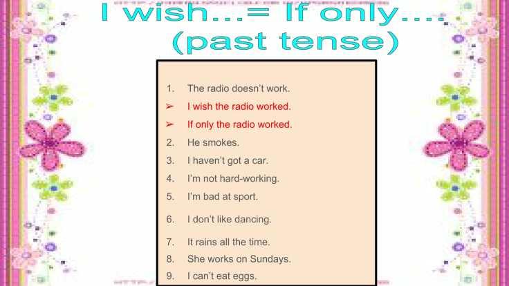 Câu mong ước với 'Wish'-22