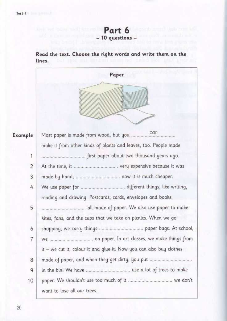 Tests Flyers 3 book-20