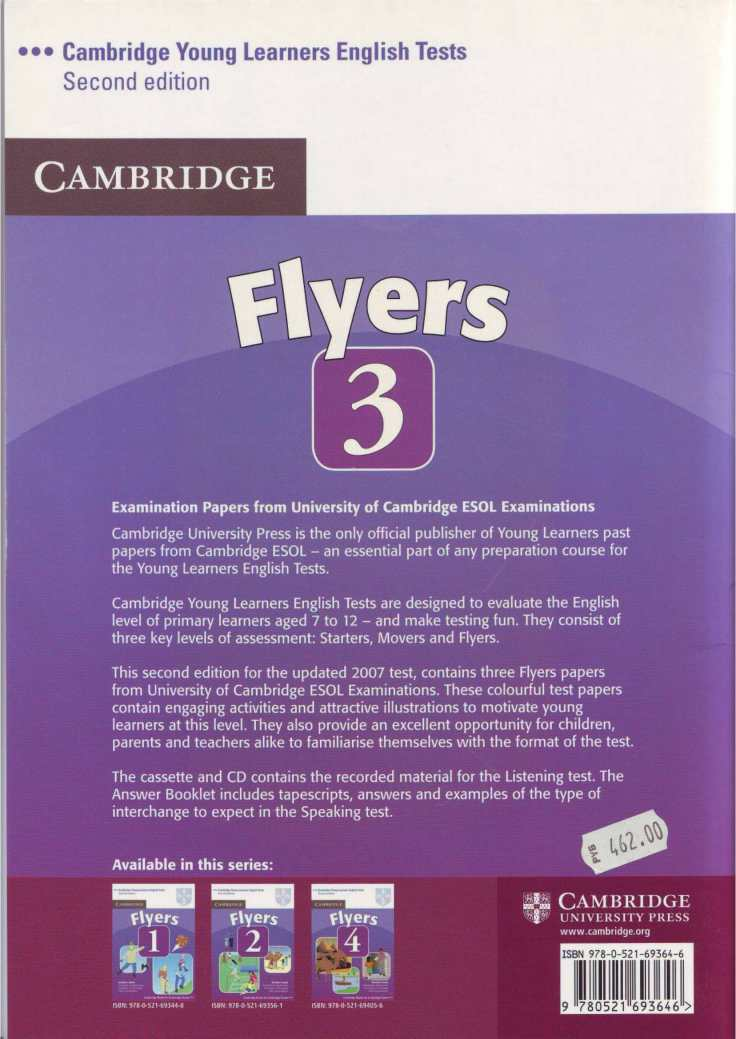 Tests Flyers 3 book-76